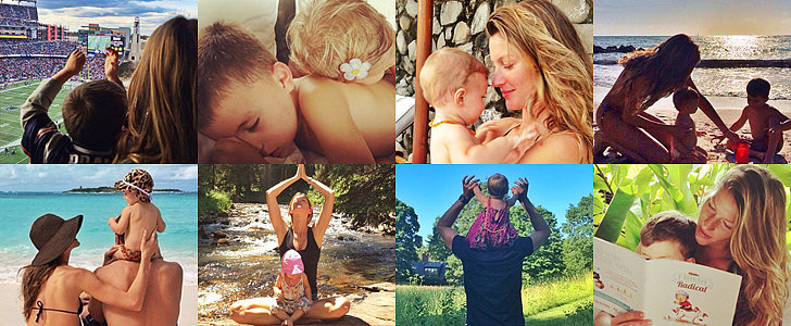 30 Adorable Family Photos From Tom and Gisele