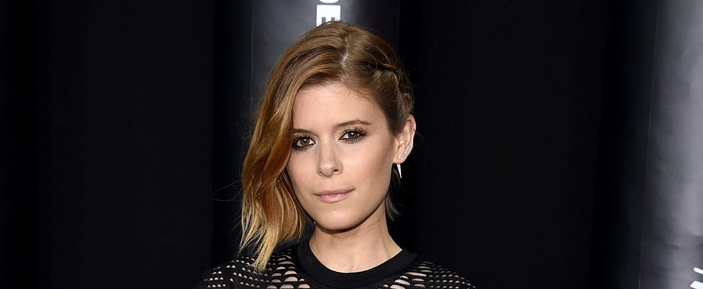 Kate Mara's Sexed-Up Stare Is the Easy Look You're Trying Tonight