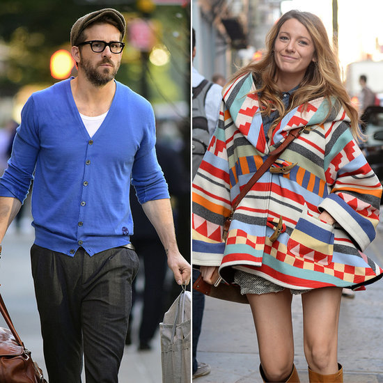Blake Lively and Ryan Reynolds Walking in NYC