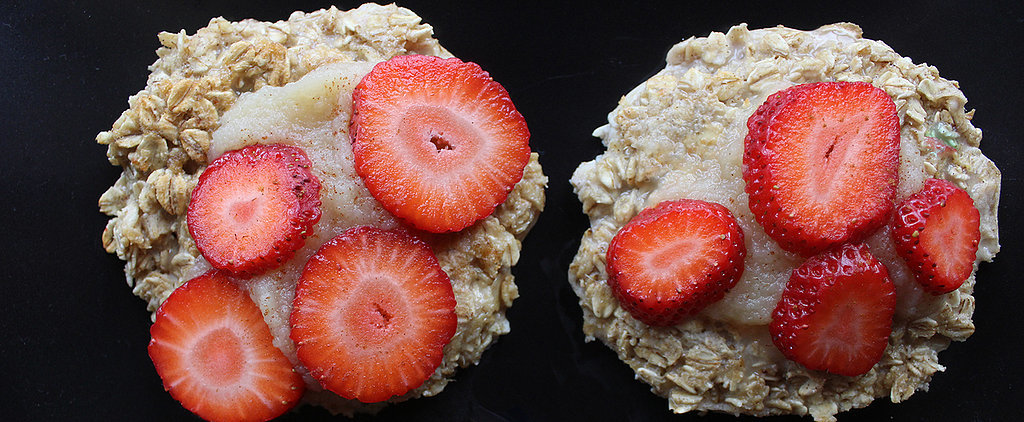 Oatmeal + Egg Whites = One Healthy Hotcake Hybrid