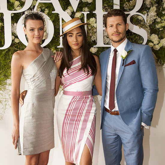 Australian Celebrities At 2014 Caulfield Cup Races