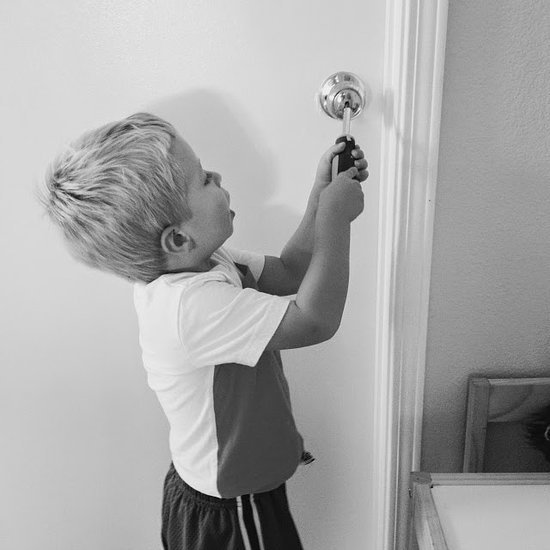 What to Do When a Toddler Locks a Door