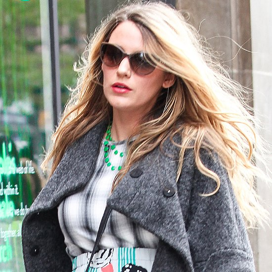 Pregnant Blake Lively Shopping in NYC | Pictures