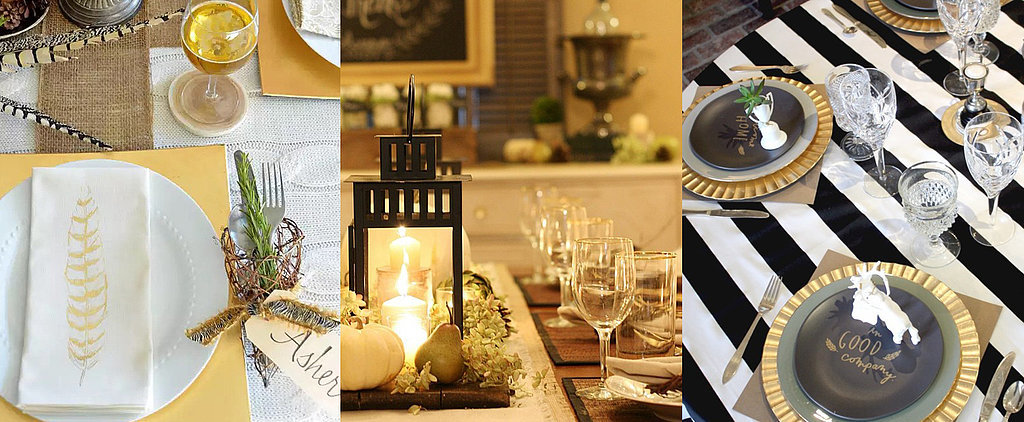 16 Real-Girl Thanksgiving Table Settings to Steal