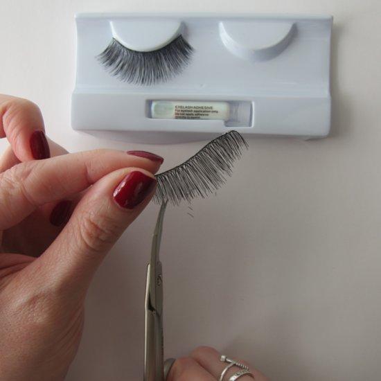 How to DIY False Lashes