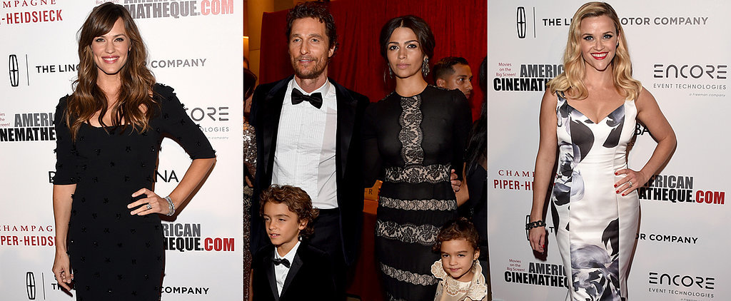 Matthew McConaughey's Cute Kids Steal the Spotlight in a Sea of A-Listers