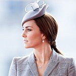 Wow! See pregnant Duchess Kate's first official outing