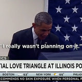 "Chicago Man Tells Obama ""Don't Touch My Girlfriend"""