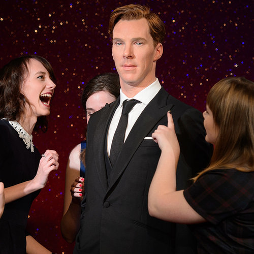 Benedict Cumberbatch's Fans Have a Totally Normal Reaction to His Wax Figure