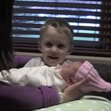 Big Brother Meets Baby Sister | Video