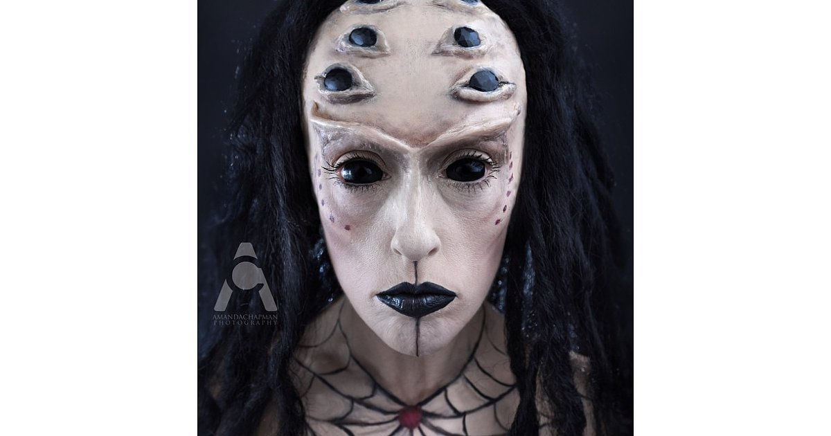 Day 21 Spider Lady This Ultimate Makeup Challenge Will