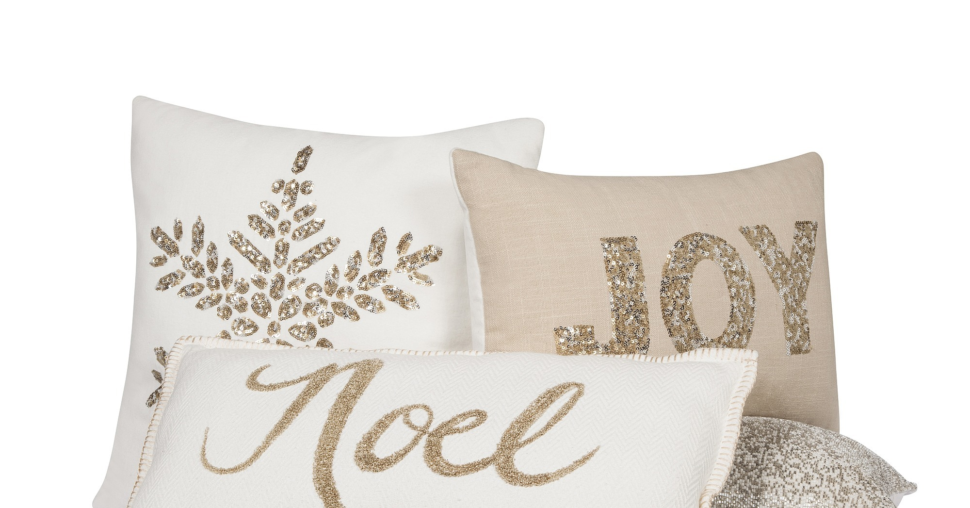 Target Decorative Christmas Pillows : Threshold Sequined Pillows ($20-$25), Threshold Embroidered Pillow Christmas Just Came Early ...