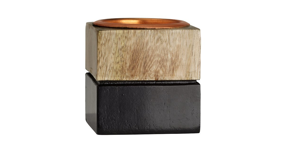 Wooden Tea Light Holder | 55+ Gorgeous H&M Decor Finds For