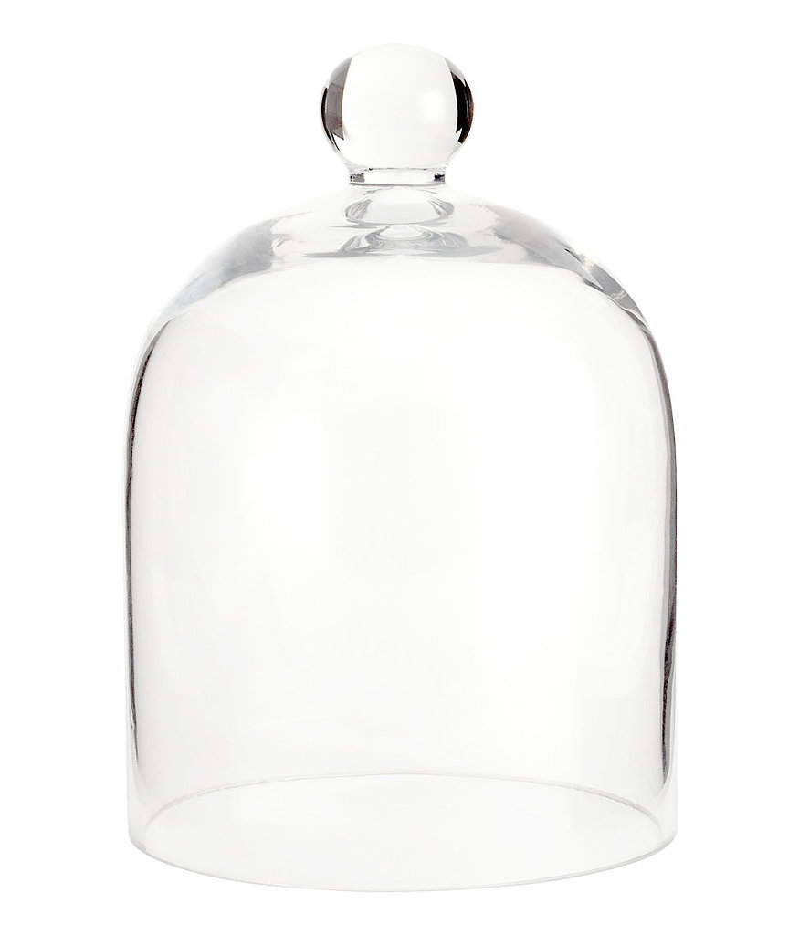Bell jar 55 gorgeous h m decor finds for 10 or less for Cloche verre decorative