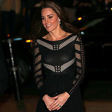 Kate Middleton at Action on Addiction's Autumn Gala