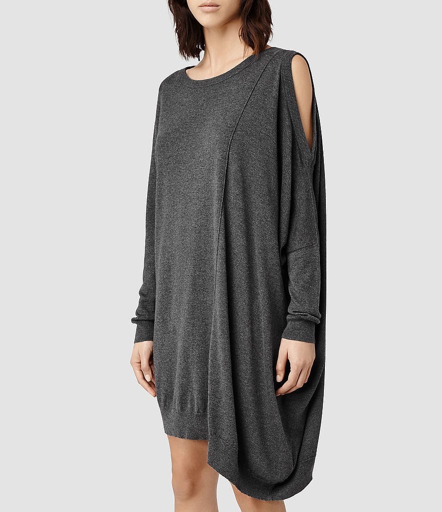 the cold shoulder sweater dress not your average sweater