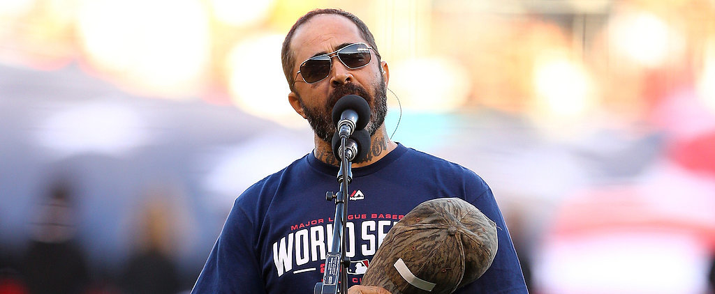 Country Star Aaron Lewis Screws Up the National Anthem at the World Series