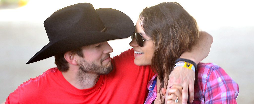 Ashton and Mila's Advice For Other Celebrity Parents