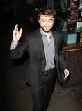 Amazing Daniel Radcliffe on the mic at The Tonight Show