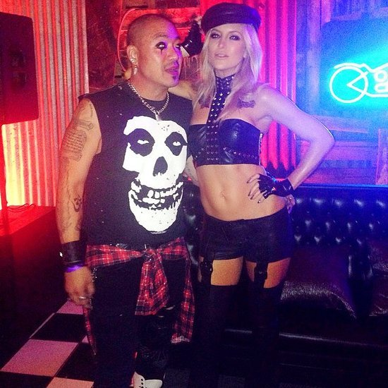 Kate Hudson Sexy Daughters of Anarchy 2014 Halloween Costume