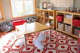 Bright Idea: A Fun Shade of Red for a Sunny Playroom (5 photos)