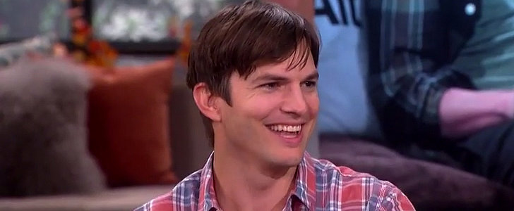 Ashton Kutcher Adorably Can't Stop Smiling While Talking About Wyatt