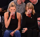 Taylor Swift and Karlie Kloss best friends at the Knicks game
