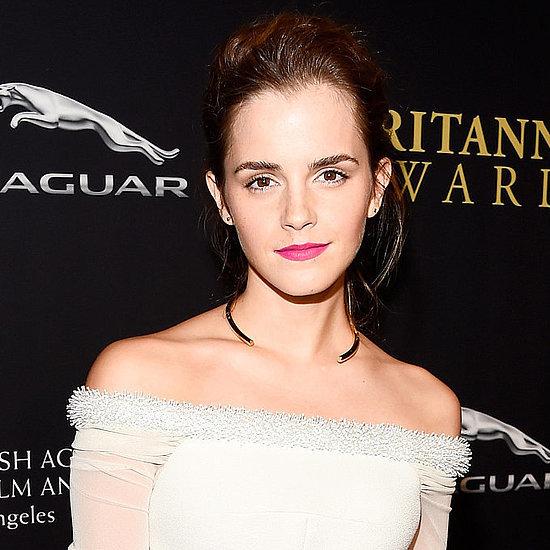 Celebrities at the 2014 BAFTA Awards: Emma Watson