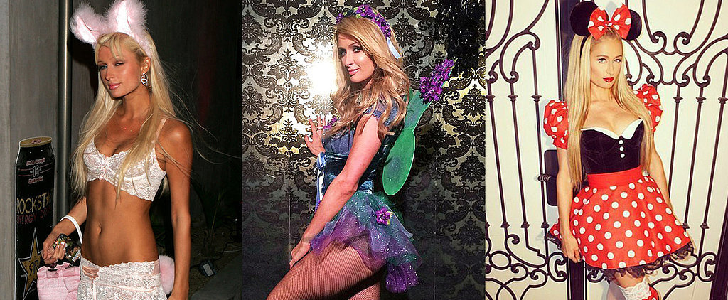 Paris Hilton's Halloween Costumes Haven't Changed Much, If at All