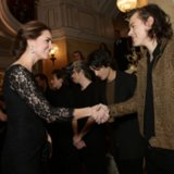 "Harry Styles Meets Kate Middleton: ""She Didn't Look Bumpy"""