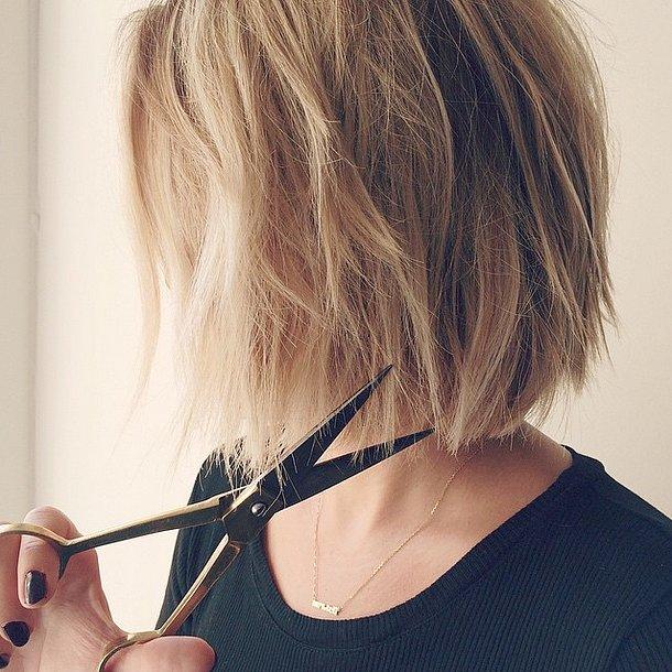 lauren conrads short hair 2014 popsugar beauty