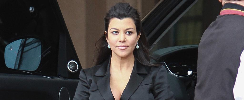 Kourtney Kardashian Is Expecting a Christmas Baby