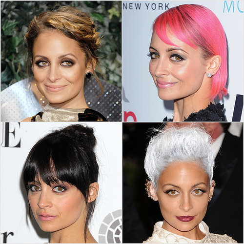 Nicole Richie Hair Colors