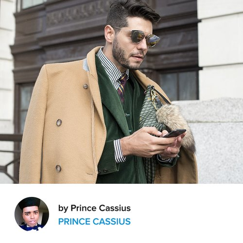 London Collections Men Trend Review Street Style