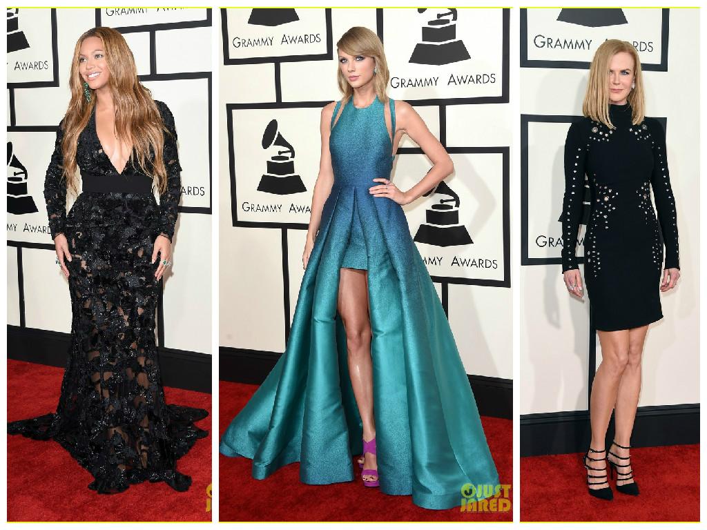 Grammys Red Carpet Beyonce Taylor Swift Nicole Kidman