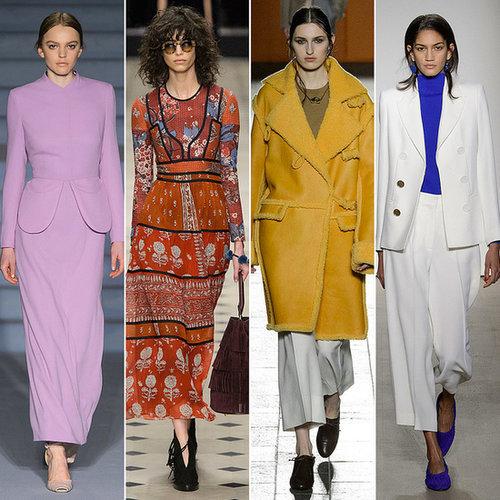 Top Fashion Trends at London Fashion Week Autumn/Winter 2014