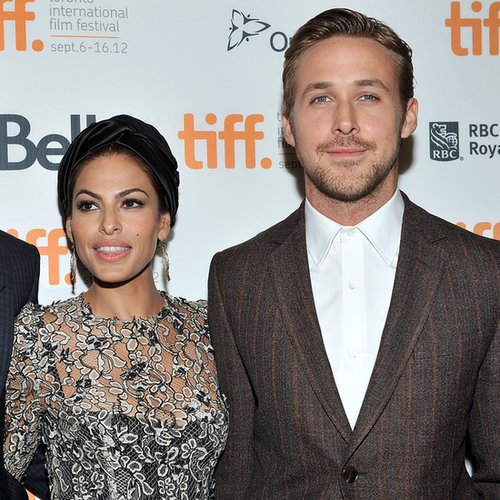 Ryan Gosling With Daughter's Name on His Hand | Pictures