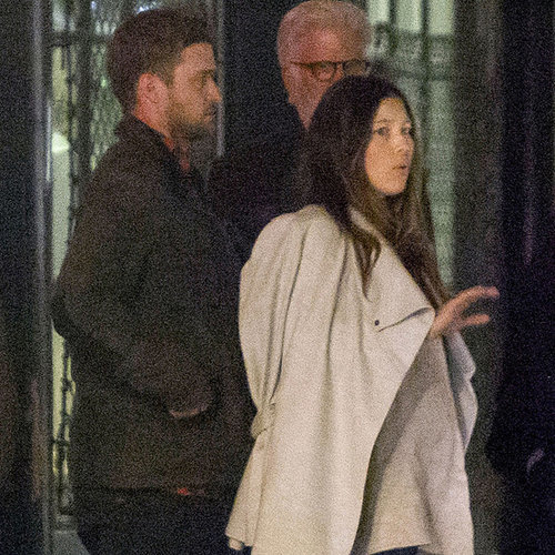Justin Timberlake and Jessica Biel at Dinner in New Orleans