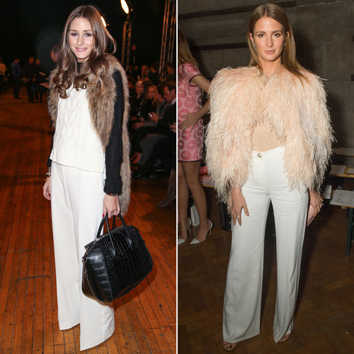 Millie Mackintosh and Olivia Palermo Wearing Similar Outfits