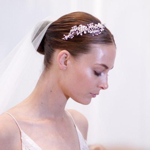 Hair and Makeup at Bridal Fashion Week Spring 2016