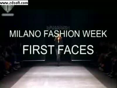 Milano fashion week-first faces.