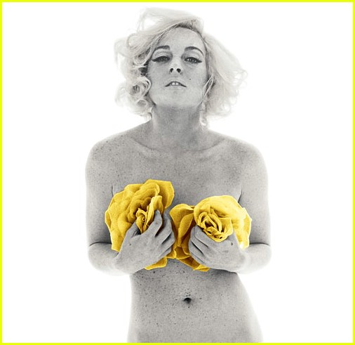 Lindsey Lohan as Marilyn Monroe