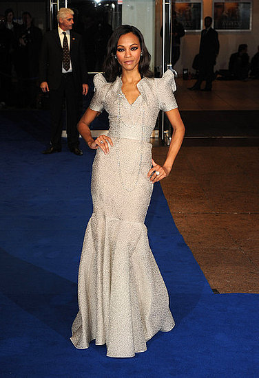 Zoe Saldana at the World Premiere of Avatar in London