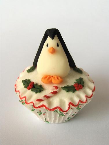 Penguin Cupcake