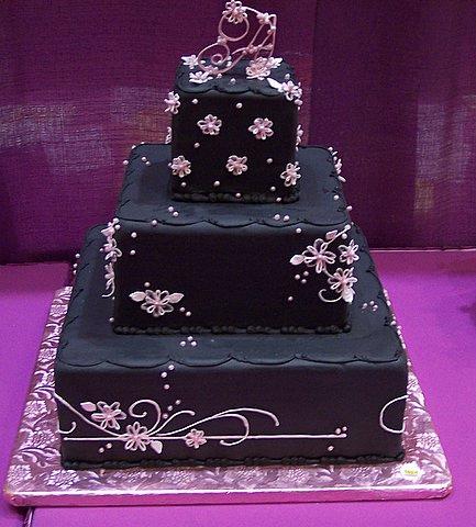 New Age wedding cake