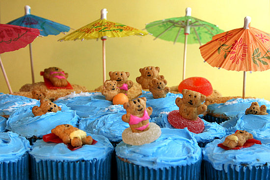 Bears at the Beach cupcakes