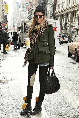 Military Meets Wild Child Meets Grunge — Me Likey!