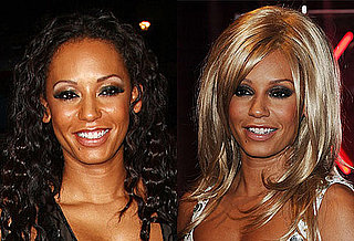 Pictures of Mel B With Blond Hair