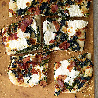 Roasted Garlic and Spinach White Pizza Recipe