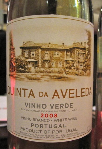 Review of Quinta da Aveleda Vinho Verde 2008
